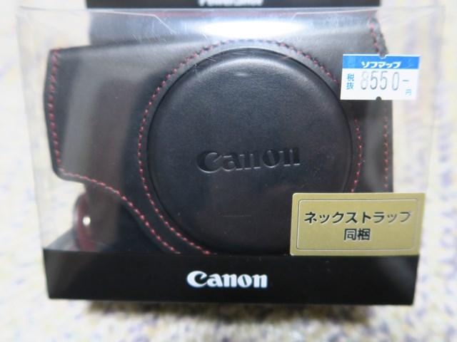 canon純正カメラケース(G7X,G9X) (3)