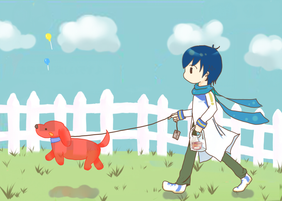 犬と風船【23の日】