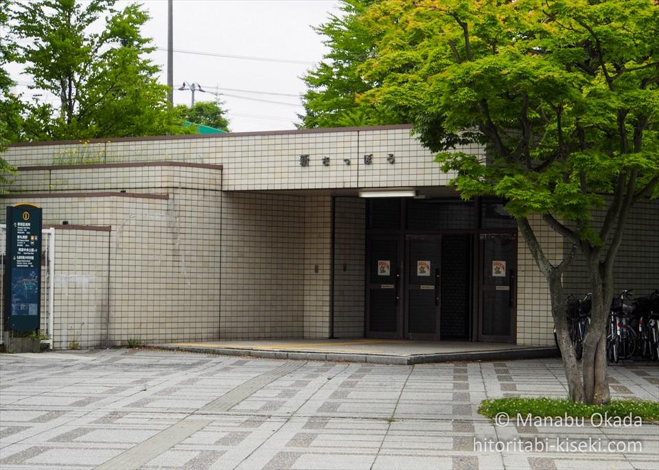 地下鉄東西線の終点「新さっぽろ駅」