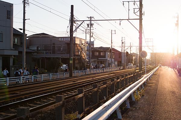 尾張旭駅近く