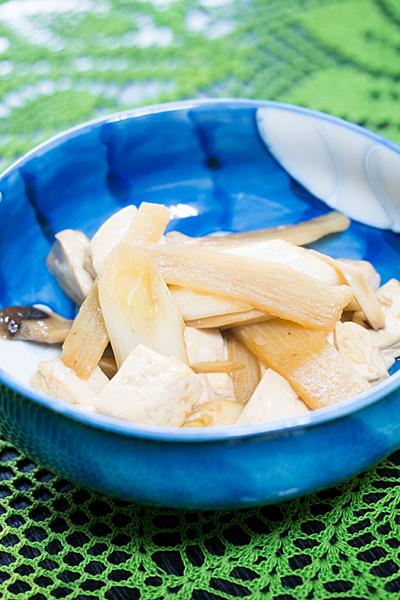 木綿豆腐のしょう油味煮