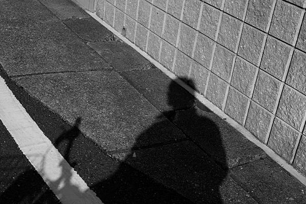 映る影の自画像
