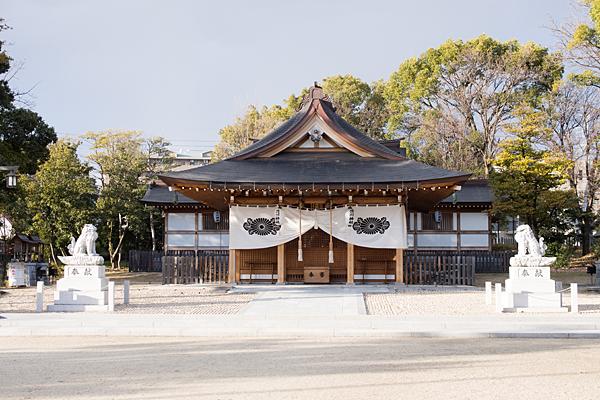 渋川神社拝殿