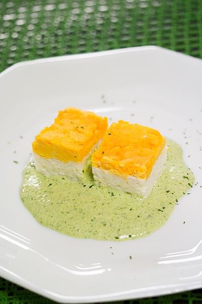錦卵のグリーンソース