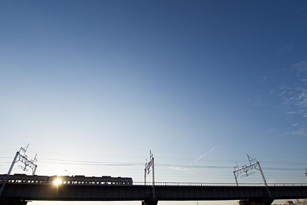 中央本線庄内川橋梁