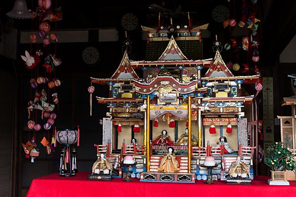 江戸期のひな人形