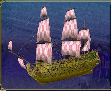底模擬用帆塗料 帆塗料17 2段目、色⑧番(ピンク)