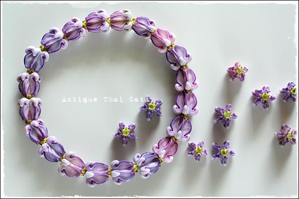 誕生日首輪2015 วันเกิด birthday 花 flowers ดอกไม้ アコン Crown flower ดอกรัก ドークラック 首輪 Collar สร้อยคอ タイ Thai ไทย