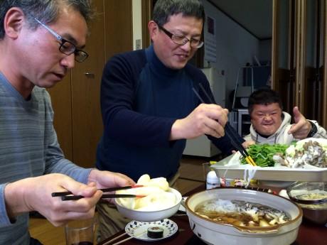 20160110 きりたんぽ鍋 (2)