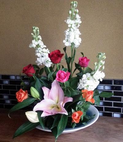 母への花束160131