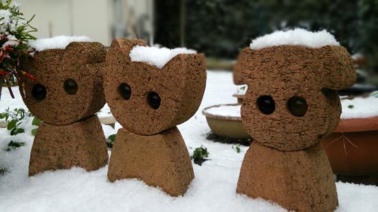雪降ったよー1601242