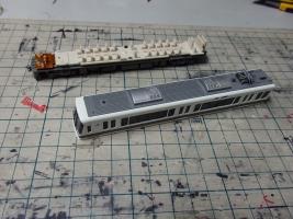 KATO 221系のヘッド・テールライトLEDを交換します。