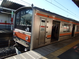 JR武蔵野線に乗りました。