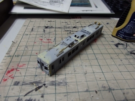 デヤ7290の配管と主要機器取付を進めました。