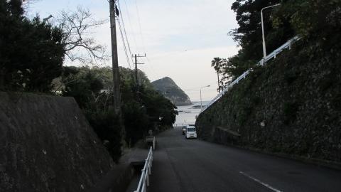 やっと下田の宿まで戻ってきました。