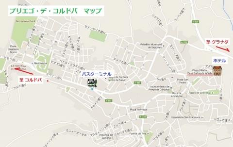 Mapa de Priego