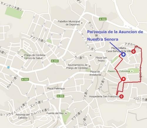 Mapa de Priego Asuncion