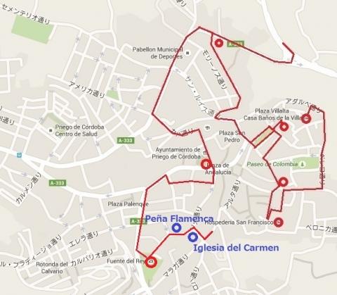 Mapa de Priego 17