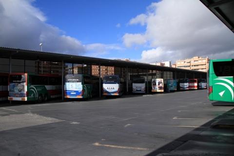 1437 Estacion de autobuses en Granada