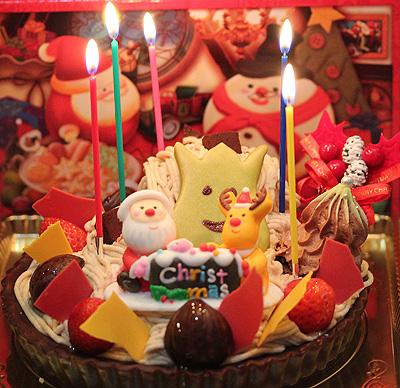 今年のケーキは。。。