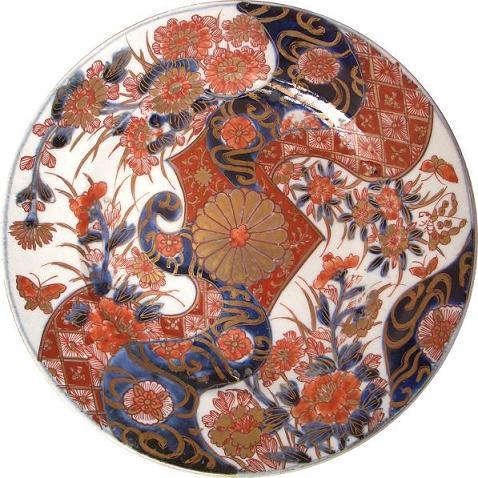 18世紀に作られたと見られる有田焼(伊万里焼)