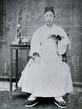 幽閉中の大院君(1883年)