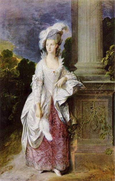 グレアム夫人 1777 (トマス・ゲインズバラ )