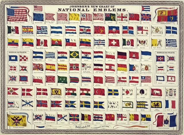 1868年当時の国旗