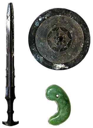三種の神器(イメージ)