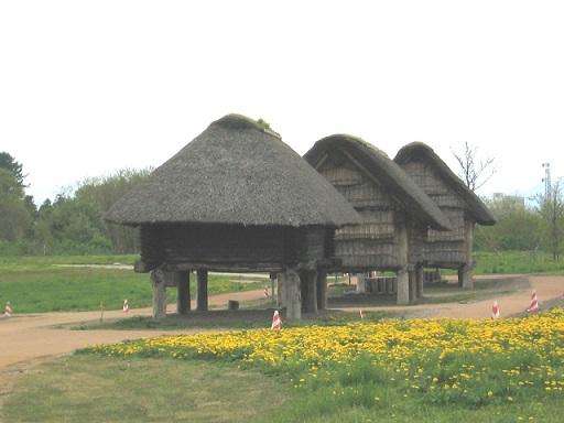 三内丸山遺跡 竪穴式住居
