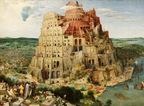 ピーテル・ブリューゲル『バベルの塔』(1563年)