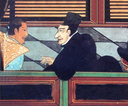 イエズス会員と日本人(1600年頃)