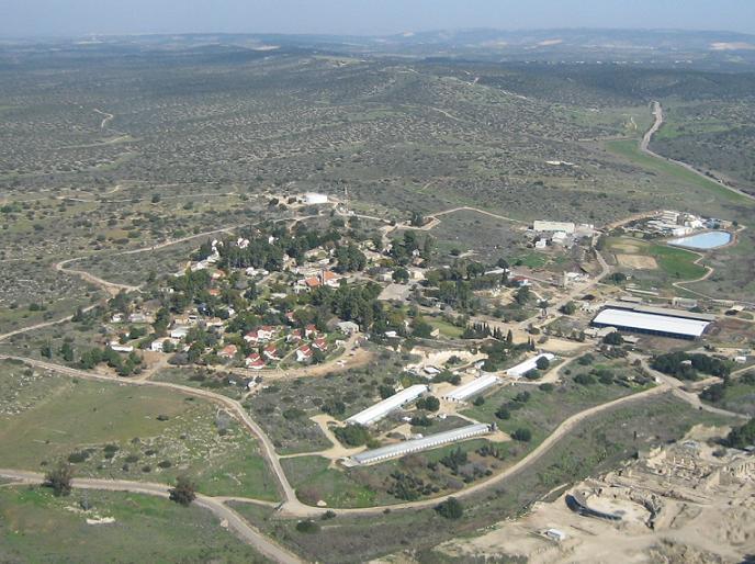 イスラエル中部にあるベイト・グブリンのキブツ
