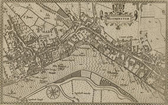 1593年当時のウェストミンスター