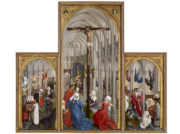 七つの秘跡 ロヒール・ファン・デル・ウェイデン画 1448年