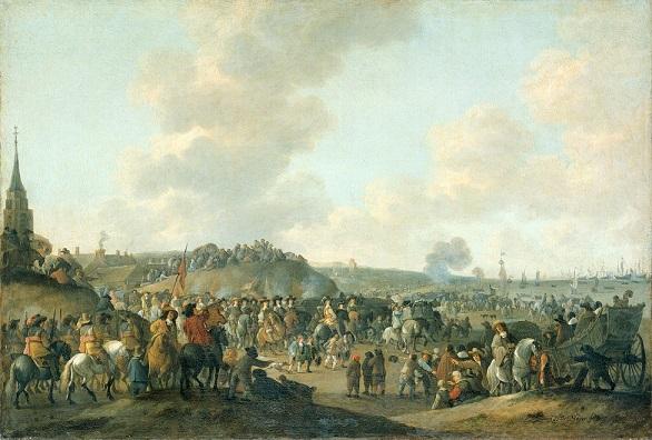 スヘフェニンゲン(オランダ)からのチャールズ2世の帰還 1660年