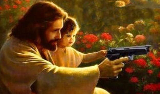 イエスと銃