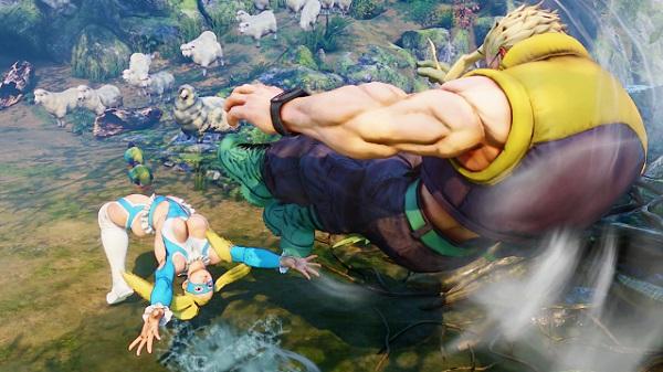 PS4 ストリートファイターⅤ streetfighter ララ ファン ミカ