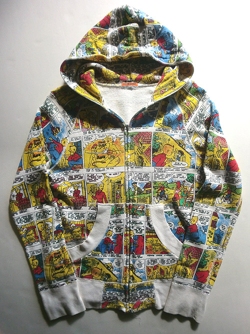 comic art sweat shirt 2
