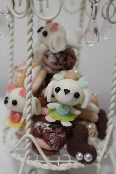 2015.12.24 粘土細工(シュークリーム)-8