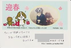 2016.01.10 可愛い年賀状-5