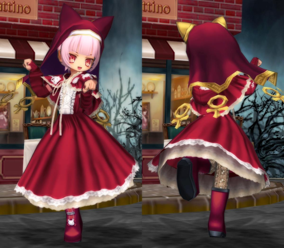 Favorite赤頭巾ワンピ