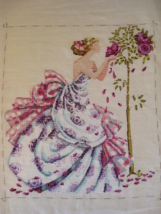 Rose of Provence クロスst終