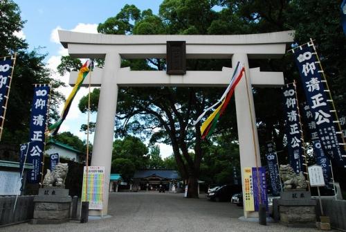 ku.熊本城・加藤神社