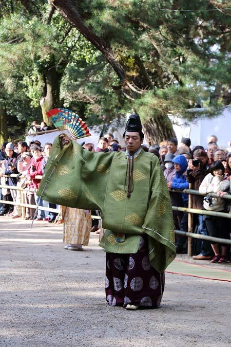 おん祭 松の下式6