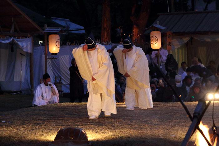 おん祭 細男舞1
