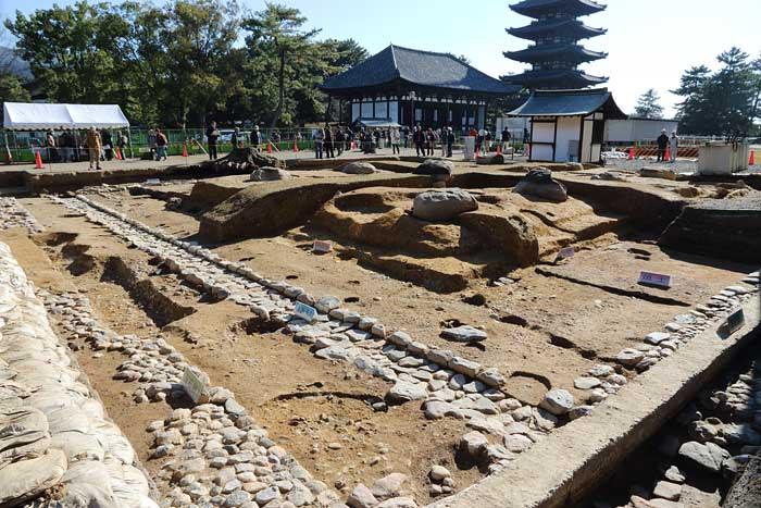 興福寺 発掘調査1