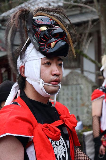 一言主神社 鬼剣舞4