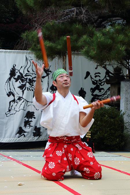 漢国神社 獅子舞5