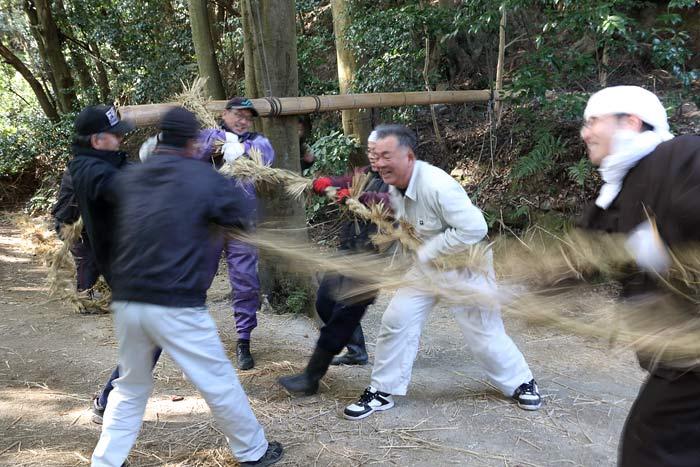 八坂神社 おんだ祭・綱かけ祭3